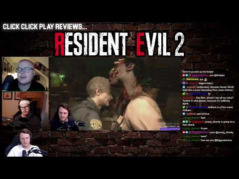 Click Click Play Reviews: Resident Evil 2 Remake video thumbnail