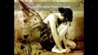 Oba magemai - Ranidu ft. Ashanthi (LYRICS)