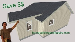 Cheapest Home Addition Roof You Can Build - Design And Construction Costs