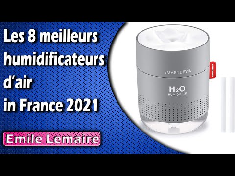 Les 8 meilleurs humidificateurs d'air in France 2020