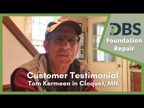 Customer Testimonial for Deck Stabilization in Cloquet, MN