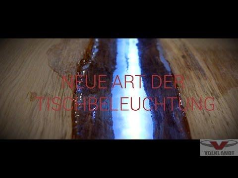 Tischbeleuchtung der besonderen ART // Luxus Tisch // DIE MANUFAKTUR