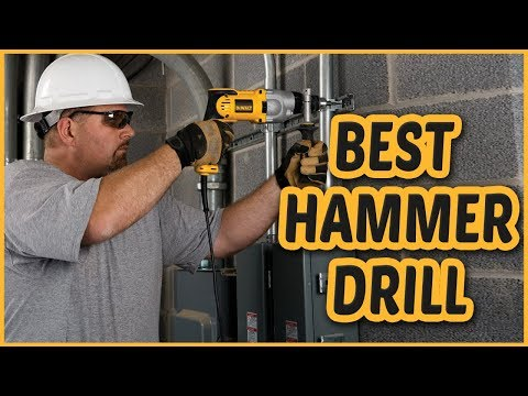 Best Hammer drill 2018 –  Hammer drill Reviews