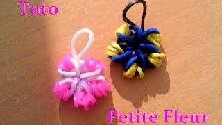 DIY : Loom Bands Flower : Fleur En élastiques. (Français)