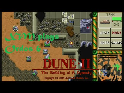 X3M plays. Dune 2: The Building of A Dynasty. Ordos 6: The enemy will not really be, under siege?
