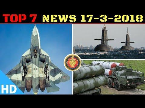 Indian Defence Updates : India Russia FGFA & S400 Signing,3 More Kalvari Class Order,DRDO New QR-SAM
