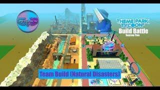 PJBAMM TPT2 Build Battle: Season 2 Premiere - Team Build (Natural Disasters)