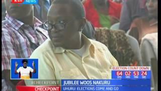 President Uhuru Kenyatta and his deputy winds up Nakuru campaign tour