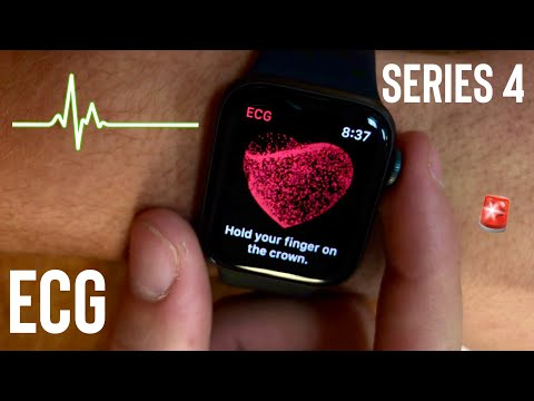 How To Take A ECG on Apple Watch Series 4