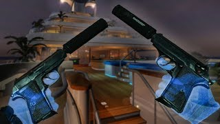 Taking $5.3M CASH From a MEGA Yacht with DUAL PISTOLS in VIRTUAL REALITY (Payday VR)