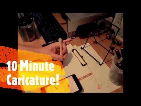 Steve P The Caricaturist Video