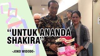 Presiden Jokowi dan Iriana Jenguk Putri Denada, Shakira Aurum Bersorak Gembira saat Diberi Hadiah