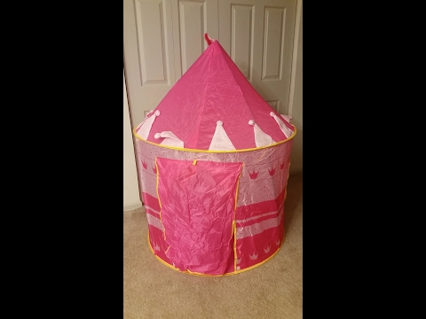 PinkyPrincess Princess Castle Childrens Play Tent *UNBOXING & REVIEW!*