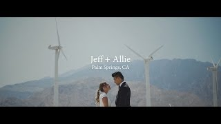 Wedding Film // Jeff + Allie // Palm Springs, CA