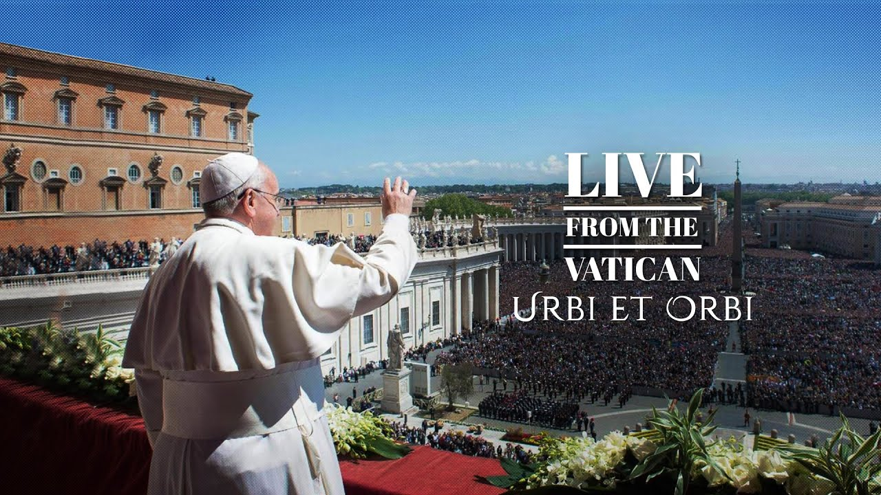 """December 25th 2020 Christmas Message from Pope Francis and """"Urbi et Orbi"""" Blessing"""