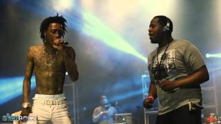 "Wiz Khalifa Performs ""We Dem Boyz"" Live At VCU Spring Concert"