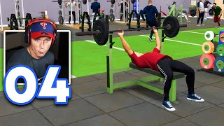 MLB 21 Road to the Show - Part 4 - Bulking in the Gym