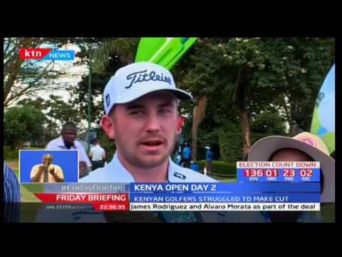 Kenyan golfers struggle at Kenya Open golf tourney in Karen