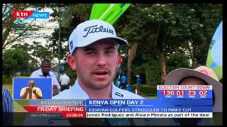 Kenyan golfers struggle at Kenya Open golf tourney in Karen