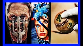 3D TATTOOS 2019 | BEST 3D TATTOO FOR MEN | BEAUTIFUL 3D TATTOO | AMAZING 3D TATTOO FOR WOMEN | IDEA