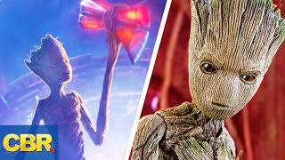 The REAL Reason Why Groot Can Lift Thor's Hammer And The Other Avengers Can't