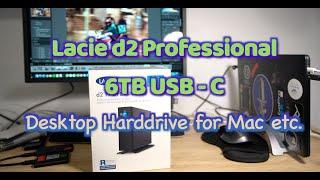 Lacie d2 Professional Drive USB C - 6TB for Mac/PC