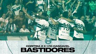 Bastidores - Coritiba 2 x 1 FC Cascavel