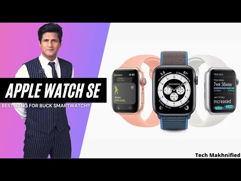Apple Watch SE. Best bang for buck Smartwatch or should you buy the Watch Series 6?