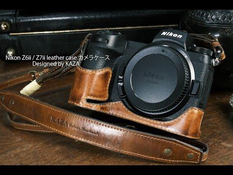 NIKON Z5/Z6/Z7/Z6II/Z7II SERIES - Half Case + Strap