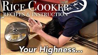 Rice Cooker Recipes   5 Reasons Why I Love my ZOJIRUSHI Rice Cooker   Japanese Home Cooking