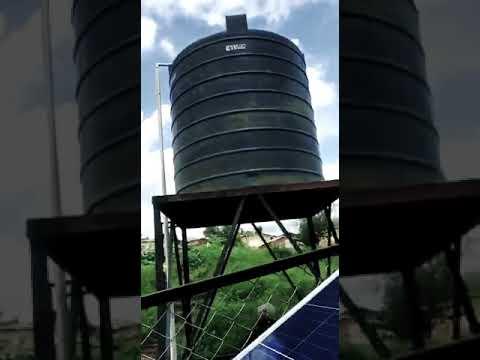 1hp AC Solar Water Pump System