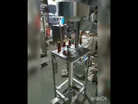 Semiautomatic Heavy Duty ROPP Capping Machine Standard Model