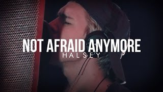 Halsey - Not Afraid Anymore - Cover