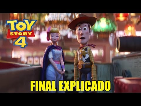 EXPLICACIÓN DEL FINAL MAS CONFUSO DE TOY STORY 4 - ¿Porque Woody se quedo con Bo Peep?