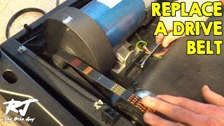How To Replace Drive Belt On Sole Treadmill