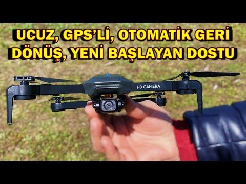 Yeni Başlayanlar için Kameralı GPS DRONE Detaylı İnceleme (Piyasadaki En Ucuz GPS\'li Drone)