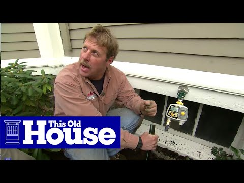 How to Install In-Ground Sprinklers | This Old House