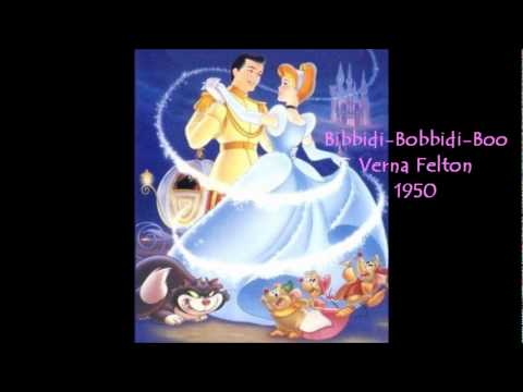Bibbidi-Bobbidi-Boo (The Magic Song) (1950) (Song) by Verna Felton