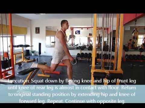 Cable One Arm Single Leg Squat
