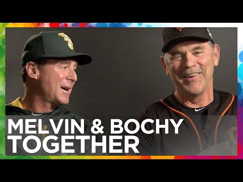Exclusive Interview with Bob Melvin & Bruce Bochy