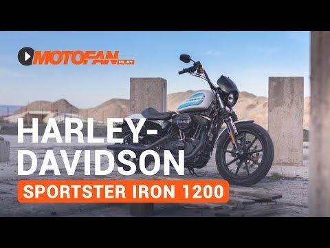 Vídeos de la Harley Davidson Sportster 1200 Iron