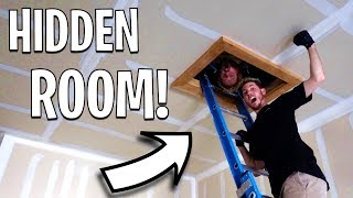 EXPLORING SECRET HIDDEN ATTIC IN MY HOUSE!