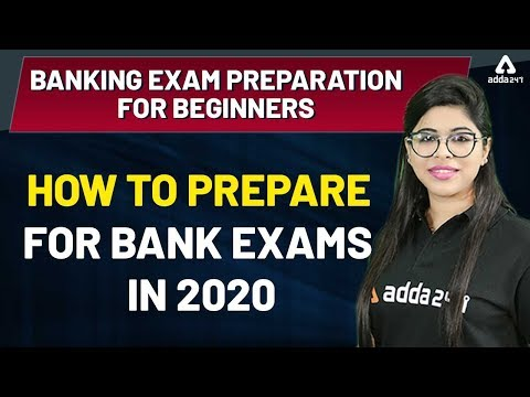 How to Prepare for Bank Exams 2020   Banking Exam Preparation ...