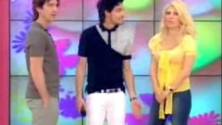 Dima Bilan interview in Greek TV - Μενεγάκη