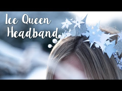 How to Create Ice Queen Headband for World Book Day - Sizzix