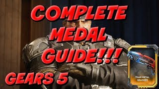 GEARS 5: COMPLETE MEDAL GUIDE!