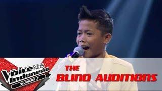 "Desna ""Jadi Aku Sebentar Saja"" | The Blind Auditions | The Voice Kids Indonesia S2 GTV 2017"