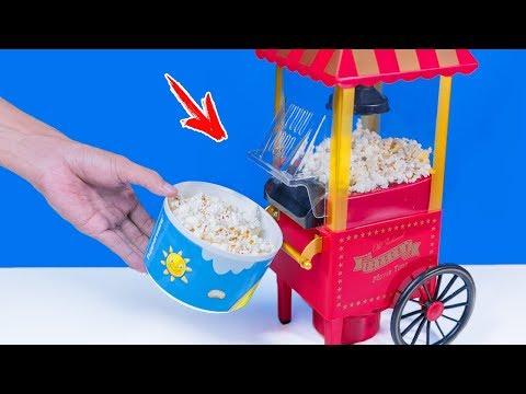WOW!! Mesin Popcorn Paling Unik | okkyjem