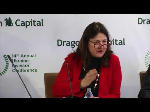 14-та конференція Dragon Capital. Панельна дискусія з міжнародними фінансовими організаціями