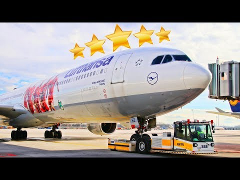 Is Lufthansa Really A 5-Star Airline?! Business Class Experience: A340 Munich-San Francisco